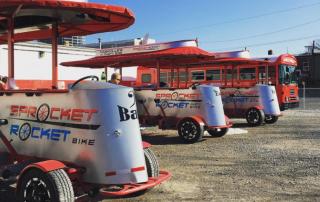 Sprocket Rocket Pedal Tavern Nashville Party Bikes Manufactured by Pedal Crawler
